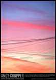 Title: 'Sunset & Cables' | 