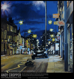 Title: 'London Rd At Night' | 